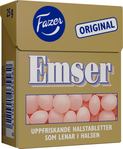 Emser tablettask 25g
