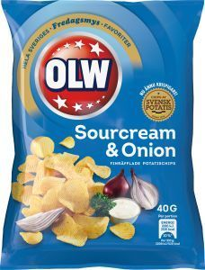 OLW Sour&Onion 40g