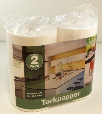 Torkpapper exclusive tad 2-pack