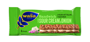 Wasa Sandwich Sourcream & Onion 33g.